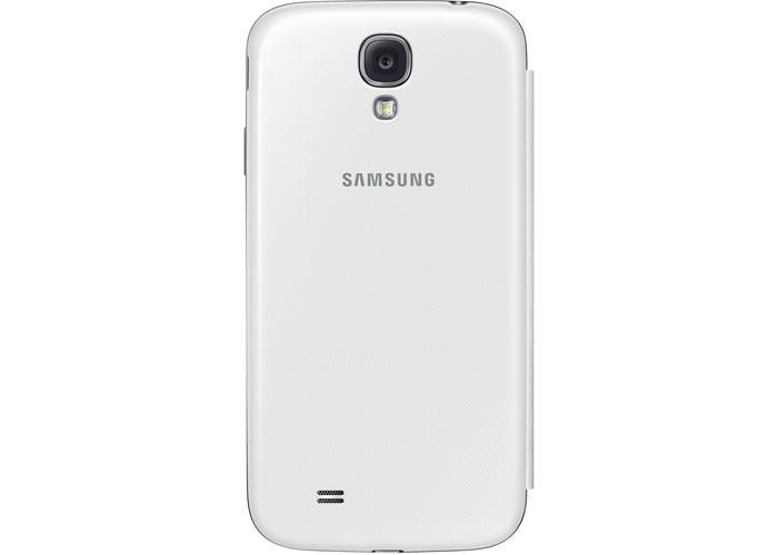 Rabat Blanc Avec Fenêtre Pour Samsung Galaxy S4 RGinPGwB