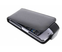 Zwart stijlvolle flipcase iPhone 5c
