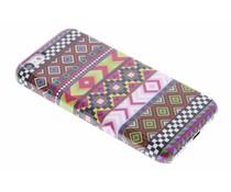 Aztec design glad hardcase hoesje iPhone 5c