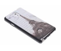 Mat Eiffeltoren hardcase hoesje Samsung Galaxy Note 3
