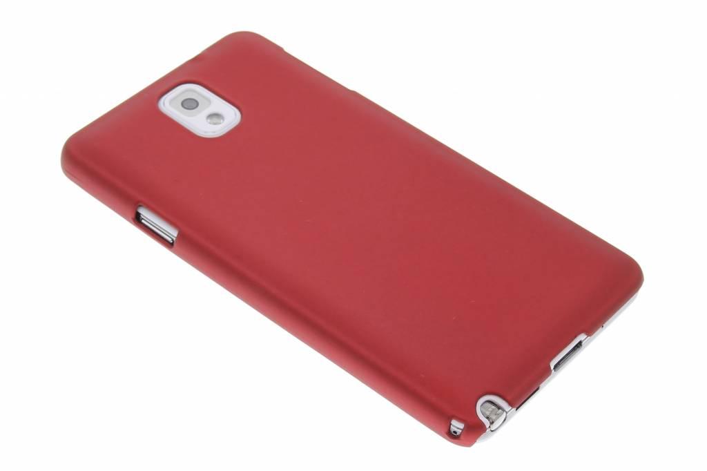 Rood effen hardcase hoesje voor de Samsung Galaxy Note 3