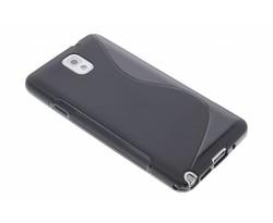 Zwart S-line TPU hoesje Samsung Galaxy Note 3