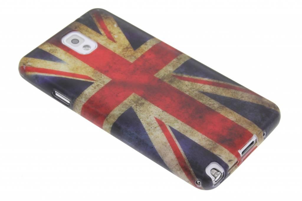 Britse vlag siliconen hoesje voor de Samsung Galaxy Note 3