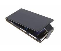 Zwart classic flipcase Sony Xperia Z1