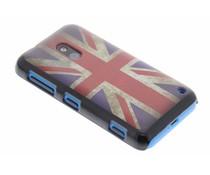 Mat Britse vlag hardcase hoesje Nokia Lumia 620