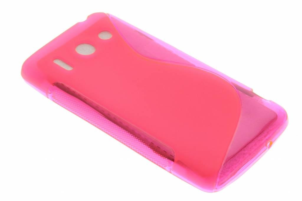 Rosé S-line TPU hoesje voor de Huawei Ascend G510