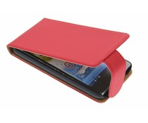 Rood classic flipcase Huawei Ascend G510