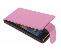 Roze classic flipcase Huawei Ascend G510