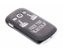 Mat stoer design hardcase hoesje Samsung Galaxy Fame