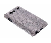 Hardcase hoesje hout design Samsung Galaxy S Advance