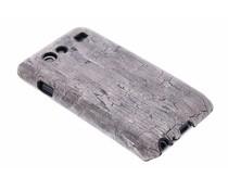 Hardcase hoesje hout design Samsung Galaxy S Advance