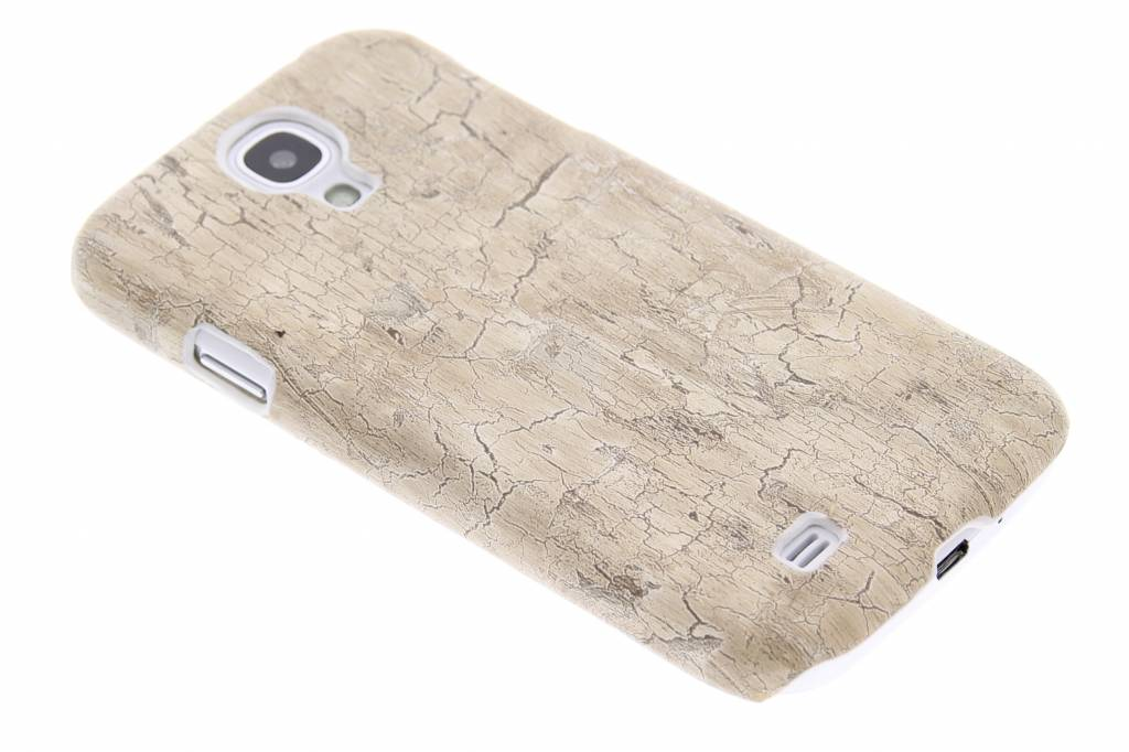 Hout design hardcase hoesje voor de Samsung Galaxy S4