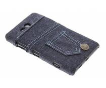 Denim jeans hardcase hoesje Nokia Lumia 820