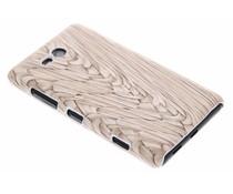 Hardcase hoesje hout design Nokia Lumia 820