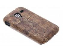 Hardcase hoesje hout design Samsung Galaxy Ace 2