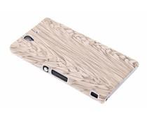 Hardcase hoesje hout design Sony Xperia Z