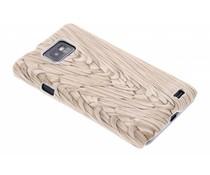 Hardcase hoesje hout design Samsung Galaxy S2 (Plus)