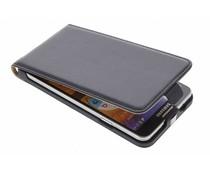 Zwart luxe flipcase Samsung Galaxy Note 3