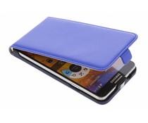 Blauw luxe flipcase Samsung Galaxy Note 3