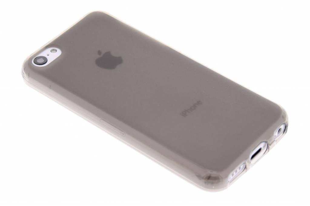 Grijs hard siliconen hoesje voor de iPhone 5c