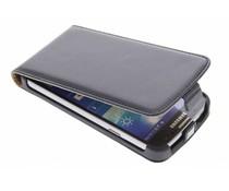 Zwart luxe flipcase Samsung Galaxy S4 Active