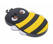 Geel bijen design siliconen hoes Samsung Galaxy Y