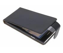 Zwart classic flipcase Huawei Ascend G700