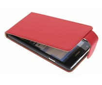Rood classic flipcase Huawei Ascend G700