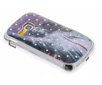 Design hardcase hoesje met strass Samsung Galaxy Mini 2