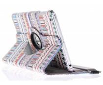 360° draaibare tablethoes aztec design iPad Mini / 2 / 3