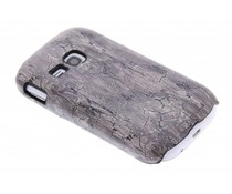 Hardcase hoesje hout design Samsung Galaxy Young