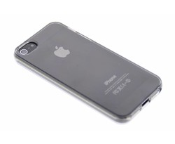 Grijs transparant gel case iPhone 5 / 5s / SE