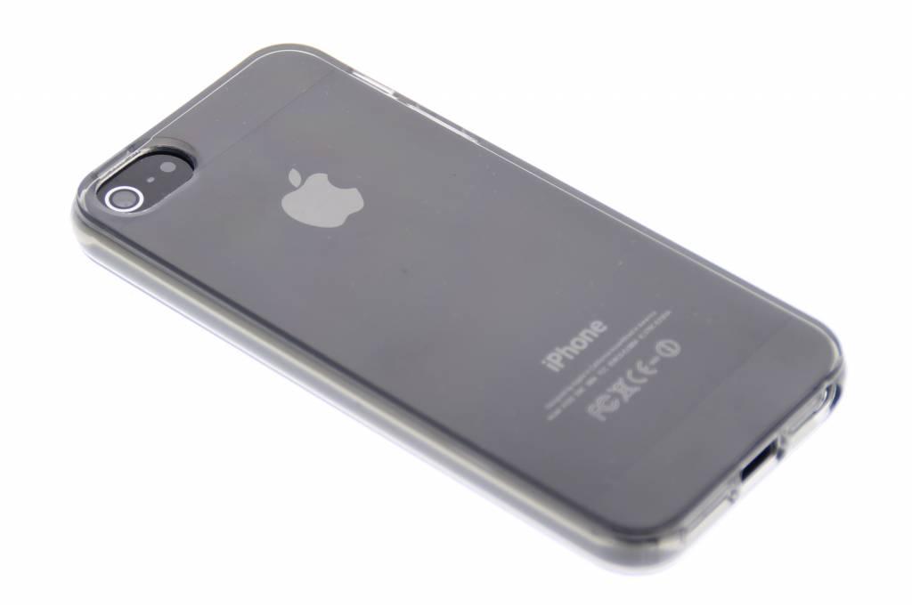 Grijze transparante gel case voor de iPhone 5 / 5s / SE