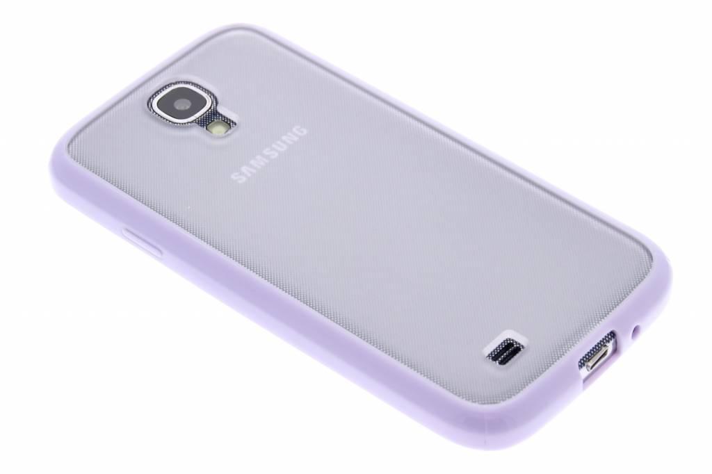Lila hardcase hoesje met TPU rand voor de Samsung Galaxy S4