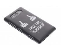 Mat stoer design hardcase hoesje Nokia Lumia 820