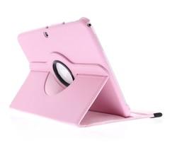 Roze 360° draaibare hoes Samsung Galaxy Tab 3 10.1