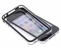 Zwart transparante bumper iPhone 4 / 4s