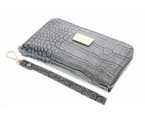 Valenta Leather Handbag Glam Grey