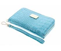 Valenta Leather Handbag Glam Turquoise
