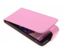 Roze classic flipcase LG Nexus 5