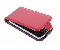 Rood luxe flipcase Samsung Galaxy Trend Lite