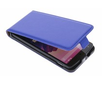 Blauw luxe flipcase LG Nexus 5