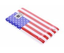 Amerikaanse vlag hardcase hoesje Galaxy S2 (Plus)