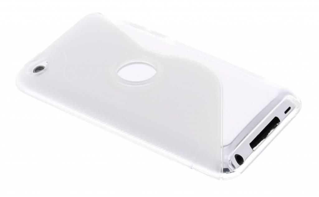Transparant TPU S-Line hoesje voor de iPod Touch 4G