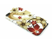 Flower glad hardcase hoesje iPod Touch 5g / 6