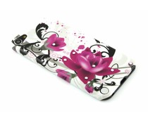 Design hardcase hoesje met strass iPod Touch 5g / 6