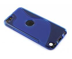 Blauw S-line TPU hoesje iPod Touch 5g / 6