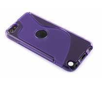 Paars S-line TPU hoesje iPod Touch 5g / 6