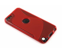 Rood S-line TPU hoesje iPod Touch 5g / 6
