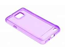 Transparant gel case Samsung Galaxy S2 (Plus)